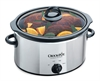 CROCK-POT SCV400PSS SLOWCOOKER 3,5L STÅL