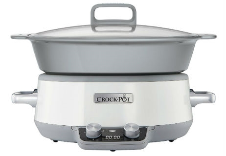 Crock-pot One Pot Cooking Duraceramic 6L Slowcooker CSC027X
