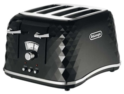 DELONGHI ICONA 4 - SLICE BRØDRISTER BRILLIANT SORT