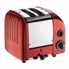 DUALIT VARIO 2-SLICE TOASTER RED CANDY APPLE