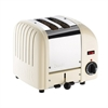 DUALIT VARIO 2-SLICE TOASTER CANVAS WHITE