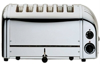 DUALIT 6 SLICE TOASTER CLASSIC