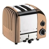 DUALIT CLASSIC 2-SLICE TOASTER KOPPER