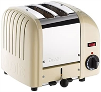 DUALIT CLASSIC 2-SLICE TOASTER CREME