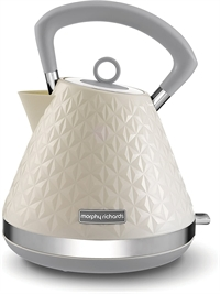 Morphy Richards Vector Pyramide Elkedel Creme
