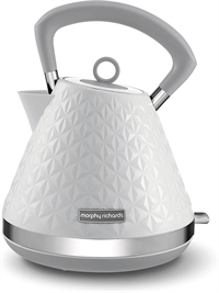 Morphy Richards Vector Pyramide Elkedel Hvid