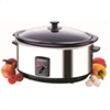 MORPHY RICHARDS SLOWCOOKER 6,5L RUSTFRI STÅL