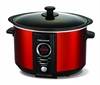 MORPHY RICHARDS DIGITAL SLOWCOOKER 3,5L RØD