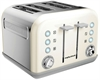 MORPHY RICHARDS ACCENTS   BRØDRISTER 4 SLICE  ELFENBEN