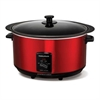 MORPHY RICHARDS SLOWCOOKER 6,5L RØD
