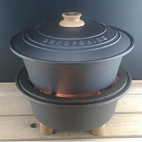 Netherton Foundry Støbejerns Grill & Slow Cooker