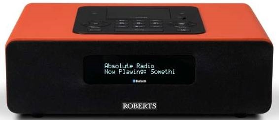 Roberts Radio Blutune 65 Orange - DAB+ | FM  | Bluetooth | Dock