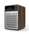 REVO SUPERSIGNAL DAB+ RADIO MED BLUETOOTH - WALNUT / SILVER