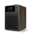 REVO SUPERSIGNAL DAB+ RADIO MED BLUETOOTH - WALNUT / BLACK