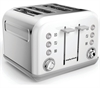 MORPHY RICHARDS ACCENTS   BRØDRISTER 4 SLICE  HVID