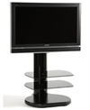 OFF THE WALL S3 SORT TV BORD - OP TIL 32""
