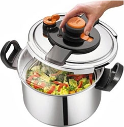 TEFAL CLIPSO ONE 6L TRYKKOGER